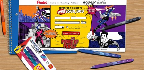 Power of Pentel Sweepstakes