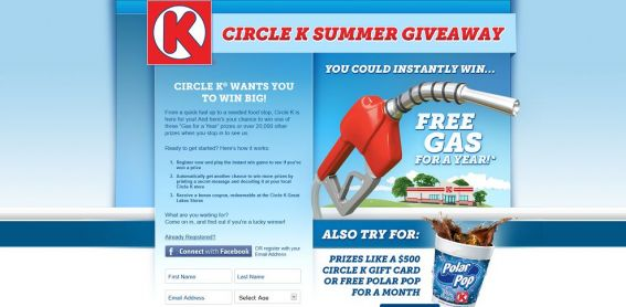 Circle K Summer Giveaway