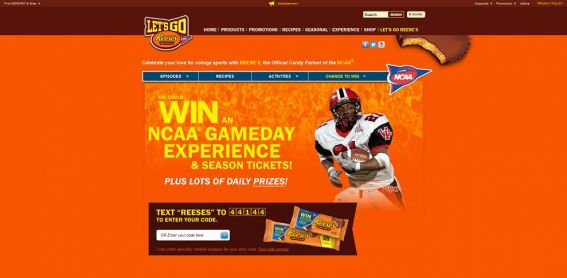REESE'S Football: Let's Go REESE'S Promotion