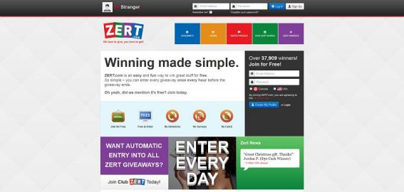 Zert.com $10,000 Giveaway