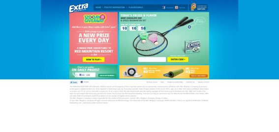 120daygetfit.extragum.com – Extra 120-Day Get Fit Giveaway Instant Win Game and Sweepstakes