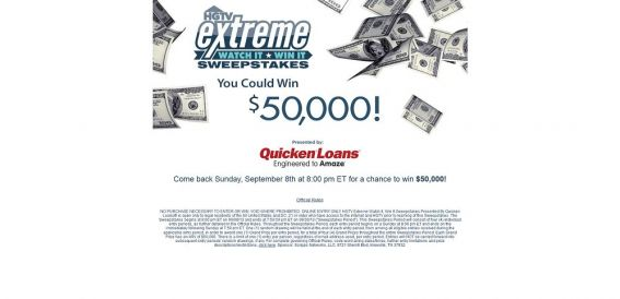 hgtv.com/extreme – HGTV Extreme Watch It, Win It Sweepstakes