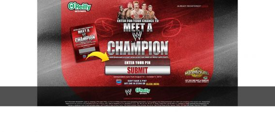 meetawwechampion.com – Meet a WWE Champion Sweepstakes