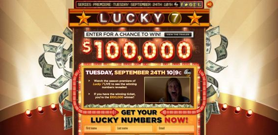 abclucky7.com – ABC's Lucky 7 Sweepstakes