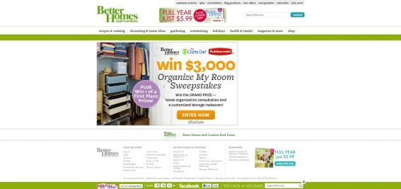 Organize My Room Sweepstakes