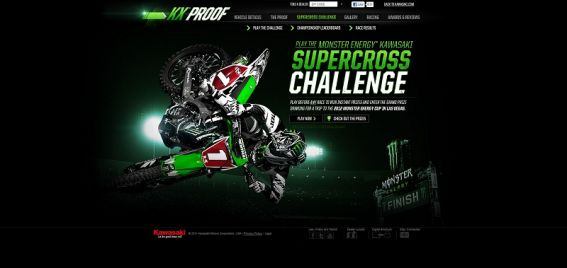 Kawasaki 2012 Monster Energy AMA Supercross, an FIM Championship Challenge