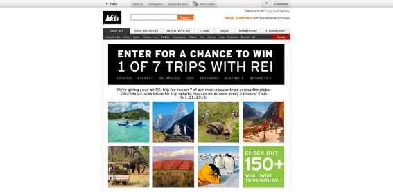 REI Around the World Sweepstakes
