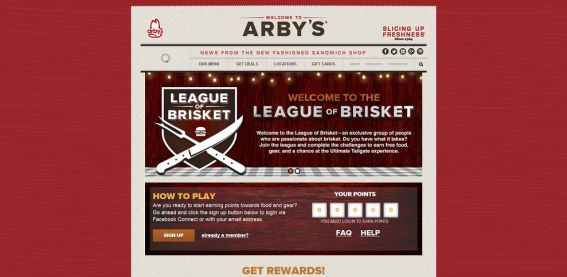 Arbys Game Day Sweepstakes