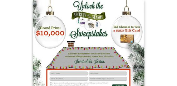 Secrets of the Season Sweepstakes