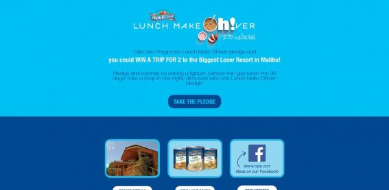 Progresso Lunch Make Oh!ver Sweepstakes