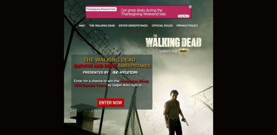 amctv.com – AMC Drive to Survive Sweepstakes
