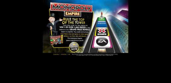 Monopoly Empire Promotion