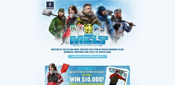 mortonteammelt.com – Morton Team M.E.L.T. Sweepstakes and Instant Win Game