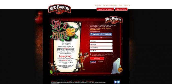 www.redbaron.com/spyaprize – Red Baron Pizza Spy A Prize Sweepstakes & Instant Win