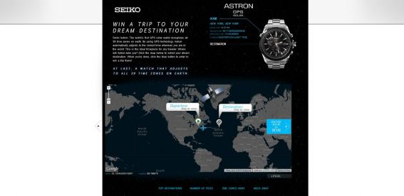 Seiko Astron $10,000 Dream Vacation Giveaway