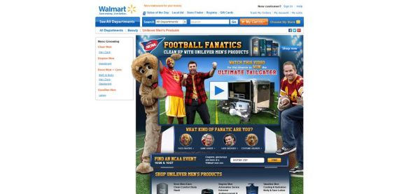 Walmart Football Fanatics Sweepstakes