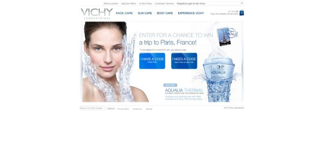 Vichy Win a Trip to France Sweepstakes
