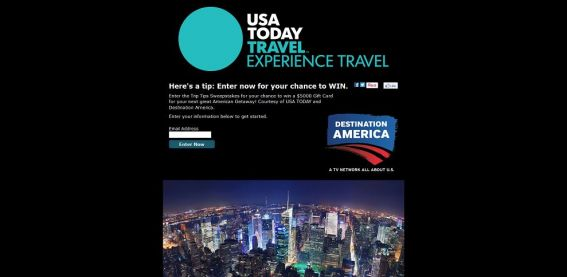 Trip Tips Sweepstakes