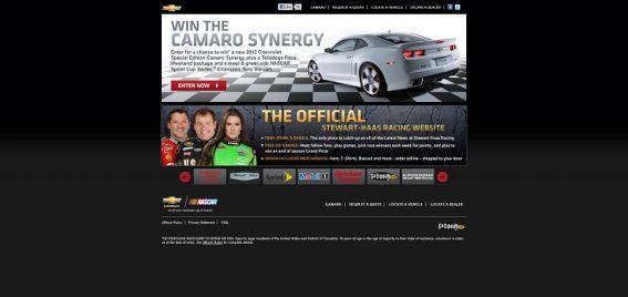 wincamarosynergy.com – Win Synergy Camaro Sweepstakes