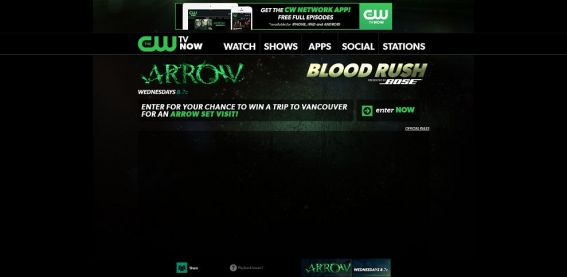 cwtv.com/bose – CW Bose and ARROW Sweepstakes