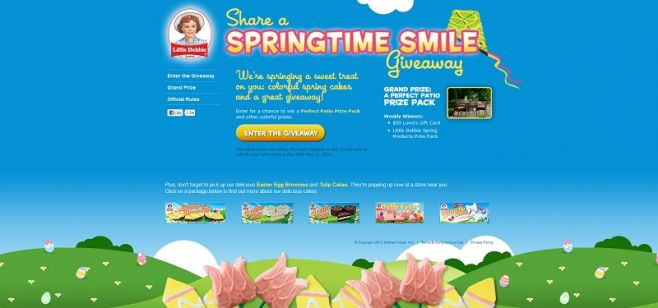 littledebbiespring.com – Little Debbie Share Your Heart Giveaway