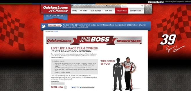 qlracing.com – You're the Boss Promotion