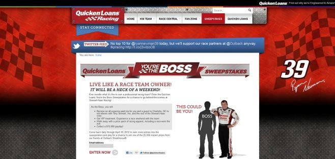 qlracing.com – You're the Boss Promotion