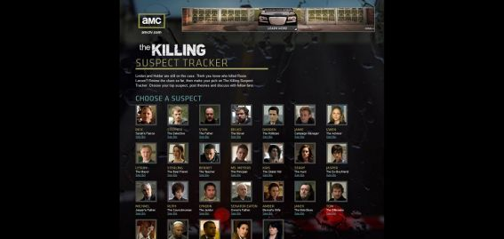 amcsuspecttracker.com – AMC's The Killing Suspect Tracker Sweepstakes