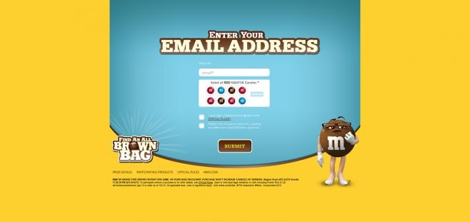 mms.com/us/findbrown – M&M's Brand Find Brown Instant Win Game