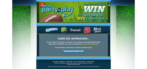 partyinplay.com – Put the Party in Play Sweepstakes and Instant Win Game