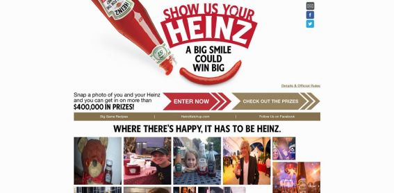 showusyourheinz.com – Show Us Your Heinz Sweepstakes