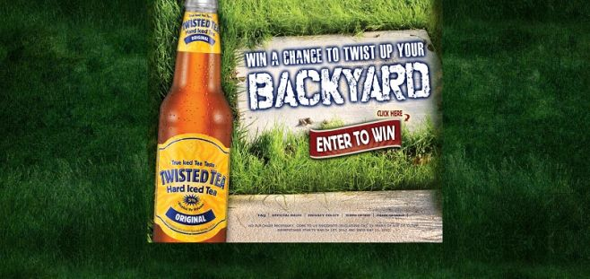 Twisted Tea Twist Up Your Backyard Sweepstakes