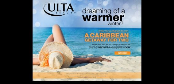 ULTAmate Caribbean Escape Sweepstakes