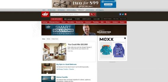 DIY Network's Smart Solutions Sweepstakes
