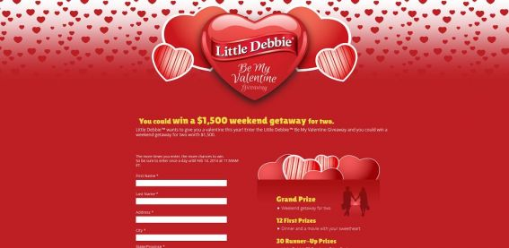Little Debbie Be My Valentine Giveaway