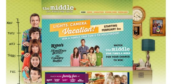 themiddleweekdays.com – The Middle Lights. Camera. Vacation! Sweepstakes
