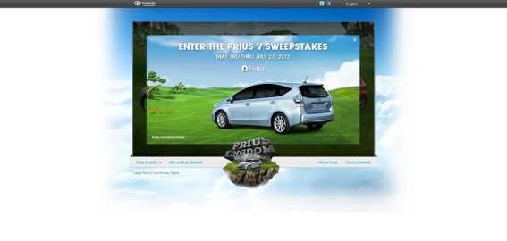 toyota.com/priuskingdom – Toyota Prius Kingdom Sweepstakes