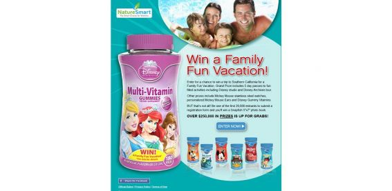 familyfunsweeps.com – WIN a Family Fun Vacation Sweepstakes