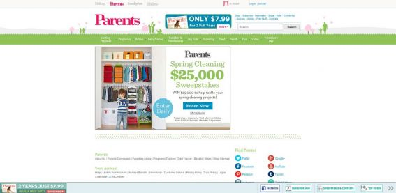 parents.com/25k – Parents.com $25,000 Sweepstakes