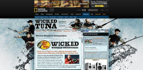 NatGeoTV.com/WickedWeekend – National Geographic Channel's Bass Pro Shops Wicked Weekend Sweepstakes
