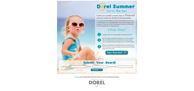 summerfuncontest.com – Dorel Industries Family Fun in the Sun Pinterest Contest