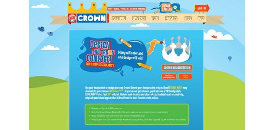 BURGER KING Design the Crown Contest