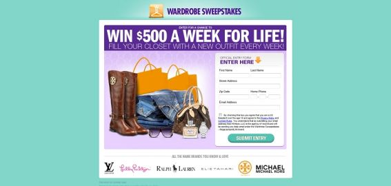 Wardrobe Sweepstakes