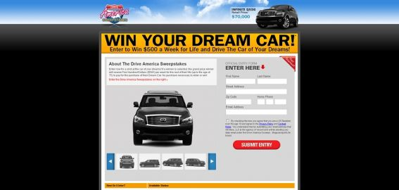 Drive America Sweepstakes