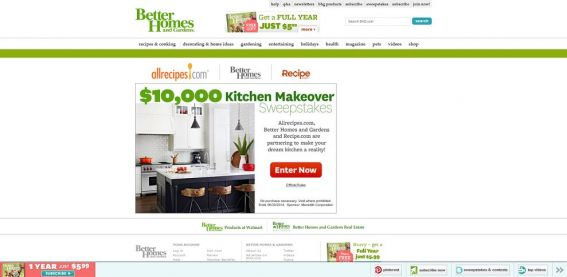 BHG $10K Kitchen Makeover Sweepstakes