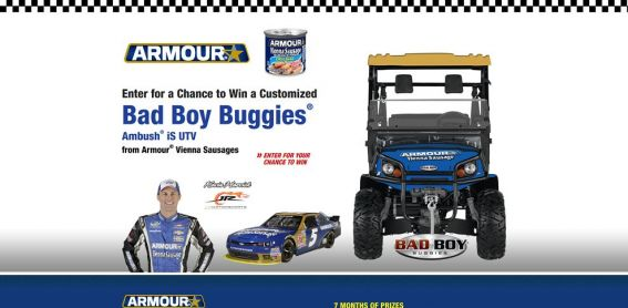 armourpitstop.com – Bad Boy Buggies Sweepstakes