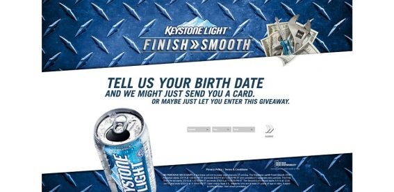 finishsmooth.com – Keystone Light Finish Smooth Promotion