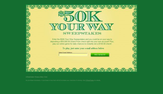 $50K Your Way Sweepstakes