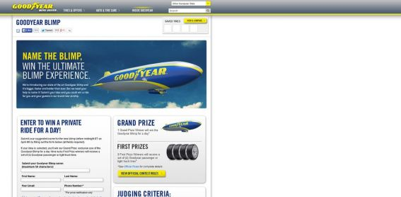 Goodyear Name the Blimp Contest