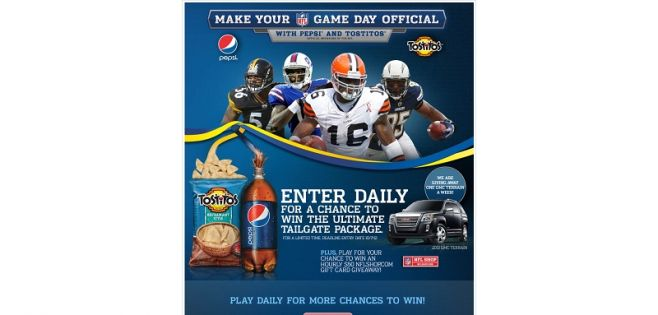 gamedayofficial.com – Make Your Game Day Official Sweepstakes